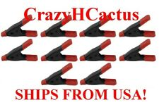 "10 Pieces 2"" Spring Hand Clamps Great for Chips, Crafts, Hobby Work FREE SHIP US"