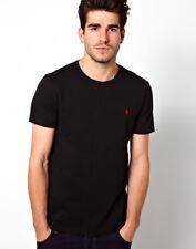 Polo Ralph Lauren Mens Short Sleeve Crew Neck T-shirt Large RL Black