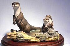 VINTAGE BORDER FINE ARTS  CHILTERN COLLECTION OTTER FAMILY  RW2