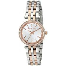 MICHAEL KORS DARCI WOMENS WATCH MK3298 SILVER DIAL TWO TONE STRAP RRP £199.00