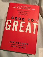 GOOD TO GREAT Jim Collins  2001 First Edtion  Making The Leap   Built to Last