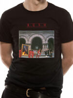 Official Rush T Shirt Moving Pictures Hard Rock Mens NEW S M L Black