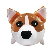 Corgi Dog Inflatable Swimming Pool Water Float Blow Up Party Toy Animal Floaties