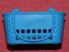 ~SHOPKINS~McDonald's / McDonalds Happy Meal Toy~Shopkins BLUE SHOPPING BASKET