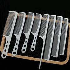 NEW Brainbow Titanium Steel Hair comb brush Handle Hairdressing Salon Antistatic