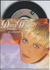 DANA WINNER - Hopeloos & Verloren CD SINGLE 2TR CARDSLEEVE 1994 BELGIUM