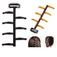 French Hair Braiding Tool Magic Hair Styling Bun Maker