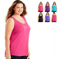 Just My Size JMS Polyester Tank Top OJ254  -- BUY TWO GET THIRD ONE FREE