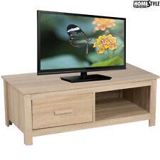Mobile TV 100 x 48 x 37 cm MDF Cassetto + Ripiano Soggiorno Homestyle Arredo