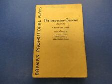 The Inspector-General Play Book, Baker's Professional Plays,Nikolai Gogol, S288