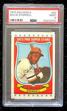 1973 Kellogg's Willie Stargell #25 Baseball Card Pittsburgh Pirates PSA 9 MINT