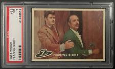 1958 TOPPS ZORRO FEARFUL SIGHT CARD #52 PSA 7 NM NEAR MINT & CENTERED (A)