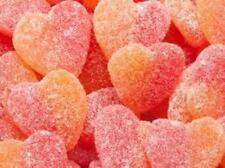 Sour Peach Hearts  2 Kg Trolli
