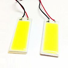 2x T10 W5W 194 168 6W White LED COB Canbus Side Lamp Wedge Light Lamp