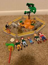 Playmobil City Life Zoo Animals Giraffe Elephant Playset