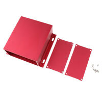 Aluminium Enclosure Project Desk Box PCB Shell for Electronic 131x54x120mm