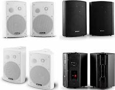 Speaker da parete,nero o bianco.Cassa diffusore audio da muro. Altoparlante