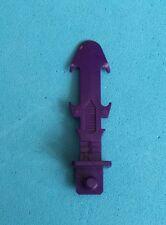 -- G1 Transformers triplechanger-Blitzwing-Electron Scimitar Sword --