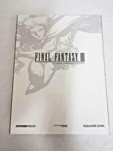 Final Fantasy 3 III GUIDA STRATEGICA UFFICIALE ITALIANA - NUOVA SIGILLATA