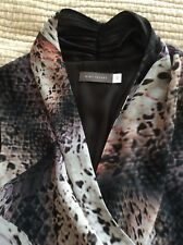 Dress Size 12 animal print by Mint Velvet shades of brown/black/cream