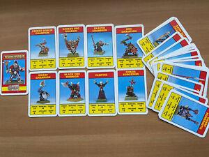 Citadel Combat Cards - Mid- 90's Games Workshop Warhammer Card Game