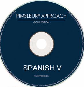 Pimsleur Spanish V - Level 5 (Five) 16 CDs - 30 Units