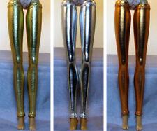 "3 Pair Metallic Fashion Doll Stockings Leggings for 11-12"" Barbie, FR & More!"