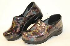 Dansko MISMATCH 38 / 37 Sketch NEW Professional Clogs Womens Shoes Italy Made kg