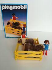 Playmobil 3579 -  Children with Pony (Klicky, Outline box, OVP)