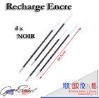 4 pcs/lot Recharge 10,7cm Stylo Papeterie bille ENCRE NOIRE (Ref_E11)