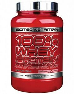 100% WHEY PROTEIN PROFESSIONAL BY SCITEC NUTRITION 920g ALL FLAVOURS