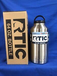 RTIC 64oz Waterbottle Stainless Steel NIB
