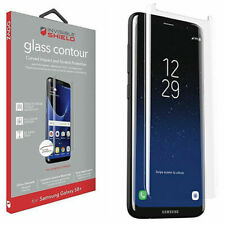 GALAXY S8+ CURVED MILITARY GRADE GLASS SCREEN PROTECTOR INVISIBLE SHIELD by Zagg