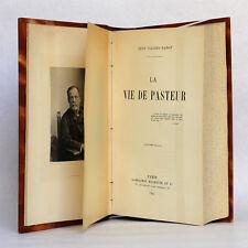 La Vie de Pasteur  René VALLERY-RADOT Hachette 1914. Relié.