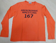 Abercrombie & Fitch (Hollister) Longsleeve Langarm Shirt Hemd orange
