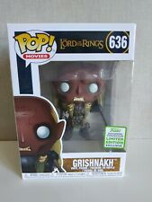 Funko Pop Grishnakh Lord of the Rings ECCC 2019 Exclusive ORIGINAL# 636 VER FOTO