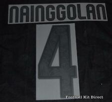 Roma Nainggolan 4 Football Shirt Name/Number Set Kit Serie a 2015/16 third