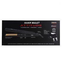 Silver Bullet Attitude Hair Straightener Black + Bonus Accessories SILVERBULLET