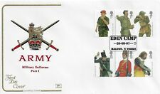 GB 2007 ARMY UNIFORMS COTSWOLD OFFICIAL FIRST DAY COVER