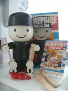 Spillers Homepride Fred Baking Set With Recipe Book In Original Box