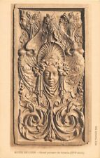 Musée de  LYON - grand panneau de boiseries - XVIe