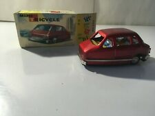 Vintage Tin 3 WHEEL CAR Mini Red Tricycle FRICTION New in Box MF99