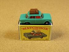 OLD VINTAGE LESNEY MATCHBOX # 56 FIAT 1500 ORIGINAL BOX