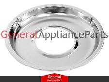 """GE Roper Gas Stove Range Cooktop 8 3/4"""" Burner Chrome Drip Pan Bowl 332299"""