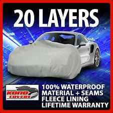 20 Layer Car Cover Fleece Lining Waterproof Soft Breathable Indoor Outdoor 17244