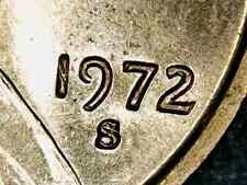 1972-S Lincoln Cent Ch-Gem BU Doubled Die Obverse 1DO-004, Coneca DDO-003