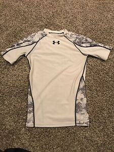 Under Armour Mens M Compression Top Heat Gear Camo A48