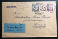 1937 Chinde Mozambique Portugal Early Airmail Cover To Hamburg Germany