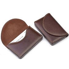 New Mens Pocket Pu Leather Business Id Credit Card Holder Case Wallet