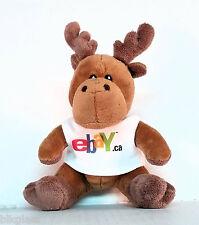 EBay Swag Plush Beanie Moose Canada 6 inch eBayana Promo Giveaway  EOL Ebay.ca